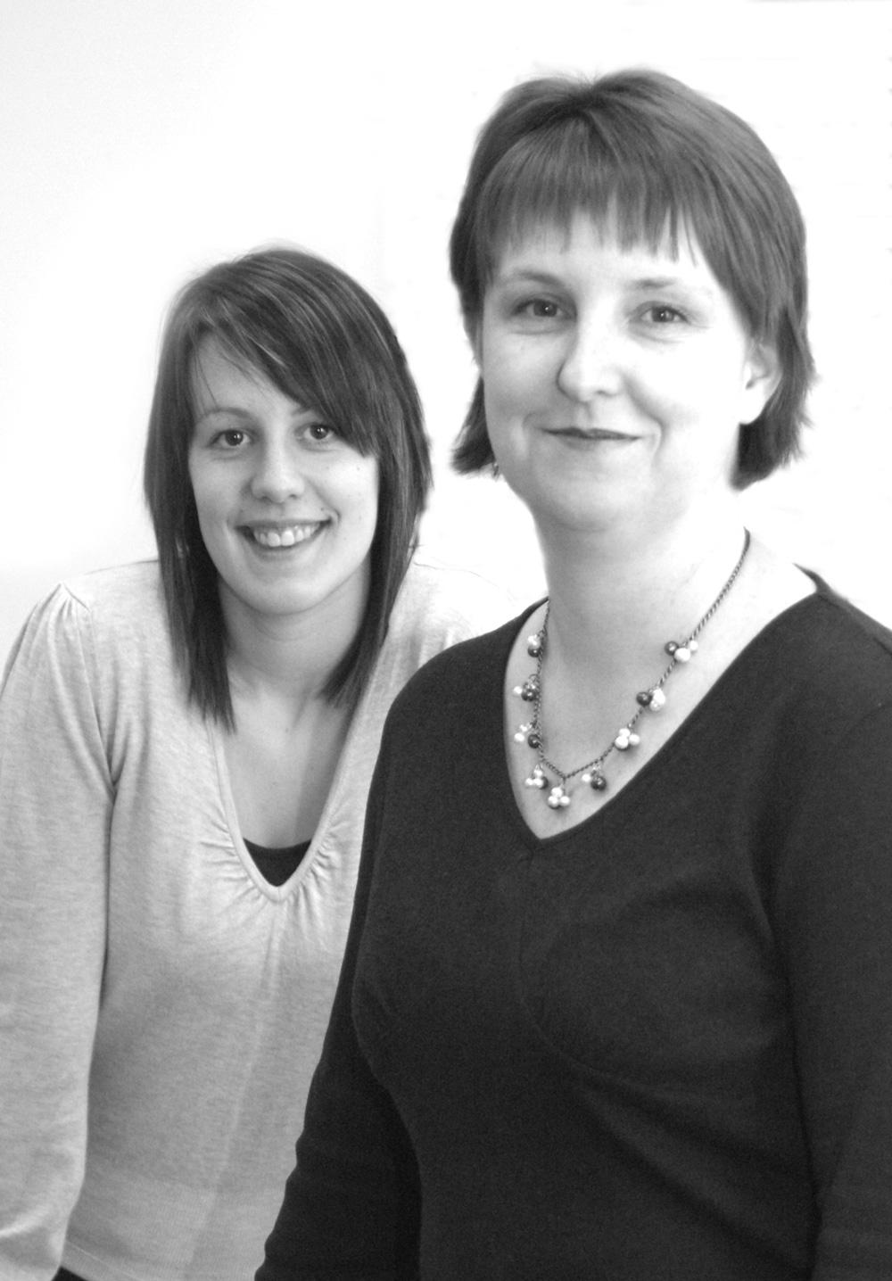 Portrait of Deborah Hatton and Lauren Osborne